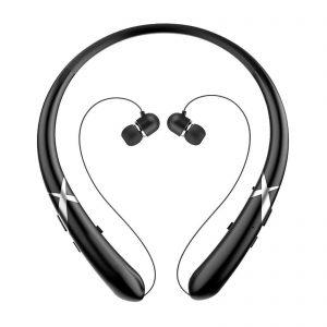 EEEkit Wireless Bluetooth 5.0 Headset Sport Stereo Retractable Headphone