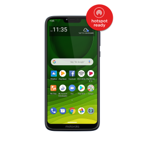 Total Wireless Moto g7 Optimo Maxx, 32GB Blue